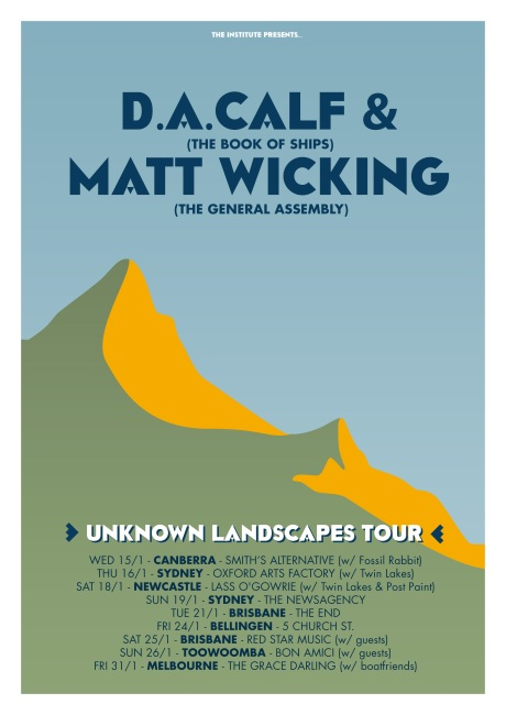 THE UNKNOWN LANDSCAPES TOUR